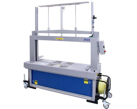st cb wide arch fully automatic strapping machine strapping banding machines products dynaric