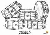Coloring Drums Snare Musical Instruments Yescoloring Drum Pages Harley Percussion Printables Majestic Cool Instrument Davidson sketch template