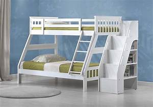 White Bunk Beds Walmart With Bookcase Capricornradio
