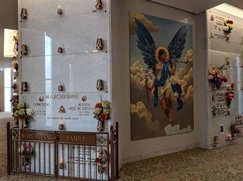 vaughan il mausoleo degli angeli dove riposa marchionne