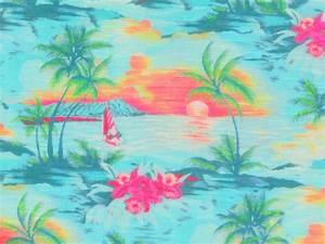 Tissu Imprimé Tropical : tissu jersey flamm imprim tropical the sweet mercerie ~ Teatrodelosmanantiales.com Idées de Décoration