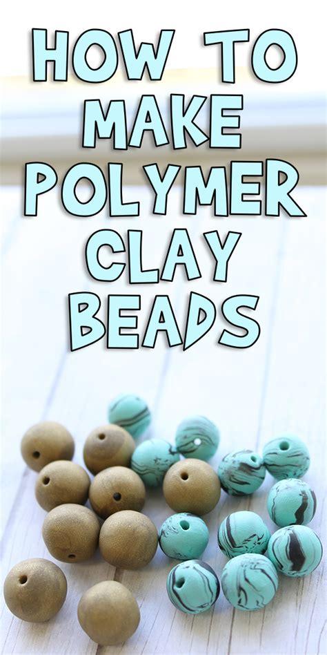 polymer clay beads woo jr kids activities