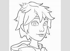 How To Draw Hiro Hamada From