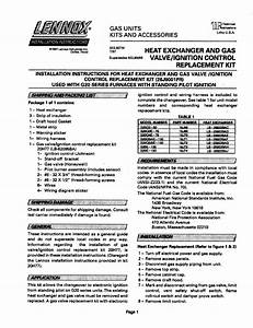 Lennox Furnace  Heater  Gas Manual L0806816