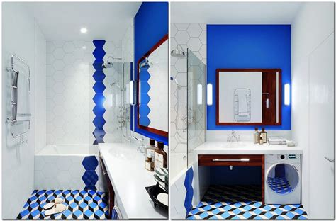 Mid Century Modern Bathroom Colors by Bright Multicolor Apartment In Mid Century Modern Style