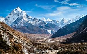 Ama Dablam Himalaya Mountains Wallpapers | HD Wallpapers ...