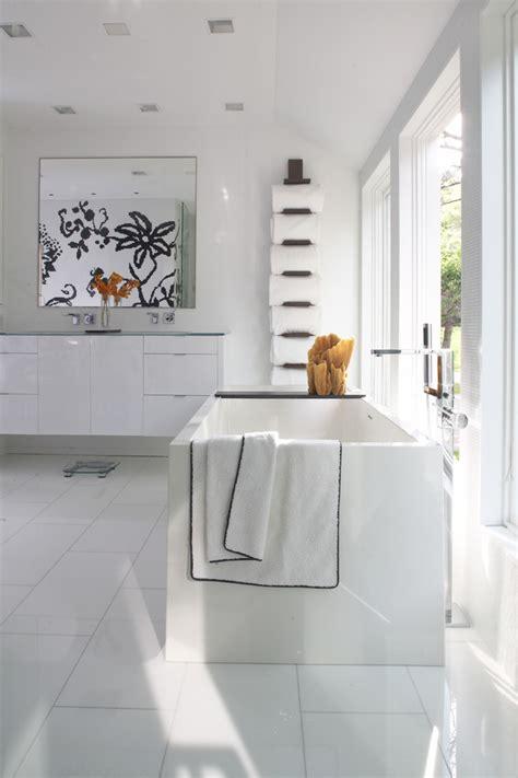 Standing Towel Rack Bathroom Contemporary With Bathroom