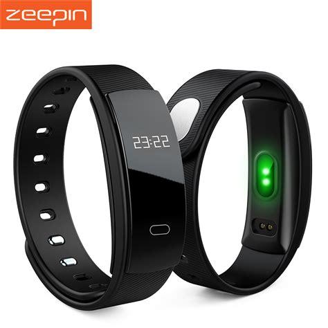 Zeepin QS80 Bluetooth Smart Band Heart Rate Monitor Smart