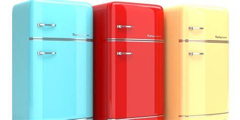 choisir couleur cuisine la tendance du frigo rétro objet deco design fr décoration intérieure et objets décoratifs