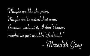 Quotes About Love Meredith Grey. QuotesGram