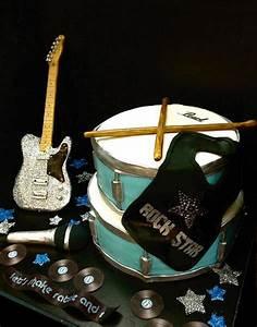 Rock Star Baby : 144 besten musik torte bilder auf pinterest musik kuchen zucker und fondant torten ~ Whattoseeinmadrid.com Haus und Dekorationen