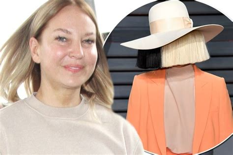 Sia Reveals The Face Under The Mask As She Ditches Wig And