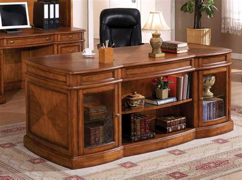 wooden office desk computer desks for home more efficient