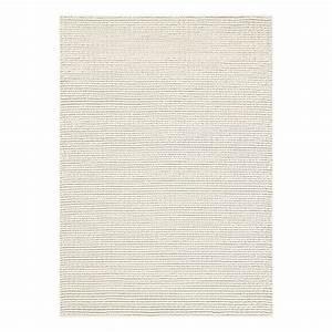Tapis Laine Blanc : tapis moderne blanc dream ligne pure laine 200 x 300 ~ Melissatoandfro.com Idées de Décoration