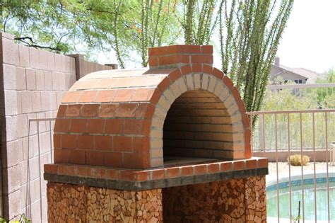 louis family wood fired brick pizza oven  california