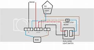 How Do I Wire A Switch To A Pir Light