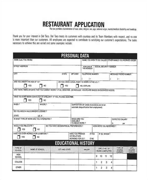 applications cuisine federal resume sle botbuzz co