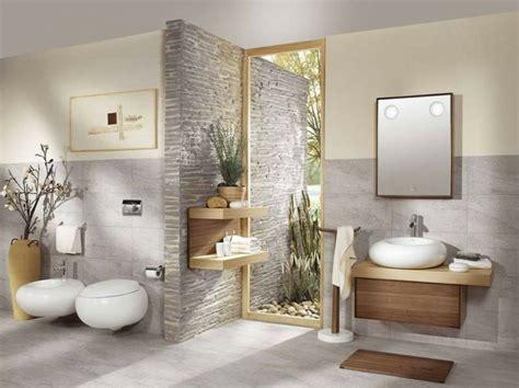 decoration zen salle de bain salle de bains zen et chaleureuse
