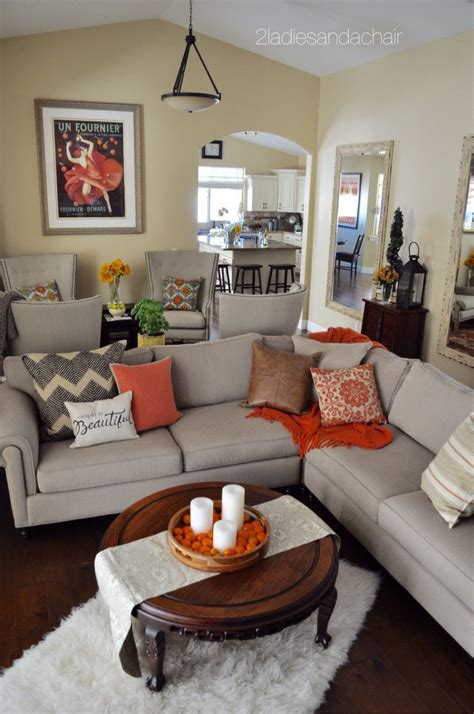 'tis Autumn Living Room Fall Decor Ideas