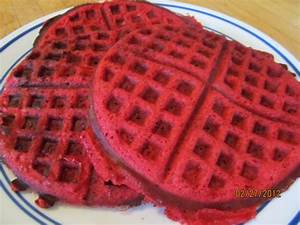 Red Velvet Waffles Recipe - Food.com
