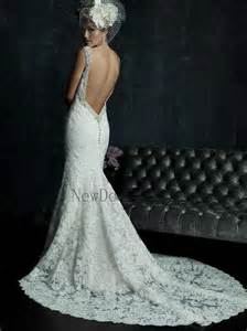 fitted wedding gowns fitted lace low back wedding dress naf dresses