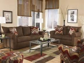 brown livingroom brown living room color schemes your home
