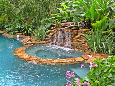 tropical pool landscaping tropical pool