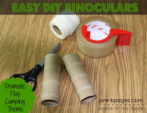 Paper Bag Park Ranger Vest For Dramatic Play Camping Theme