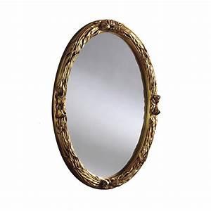 Oval, Mirror, Elise, Oval, Wall, Mirror