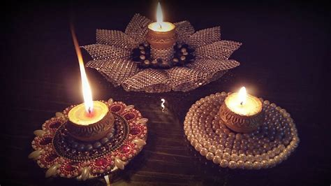 light   home  creative candles   diwali