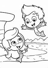 Bubble Guppies Coloring Pages Printables sketch template