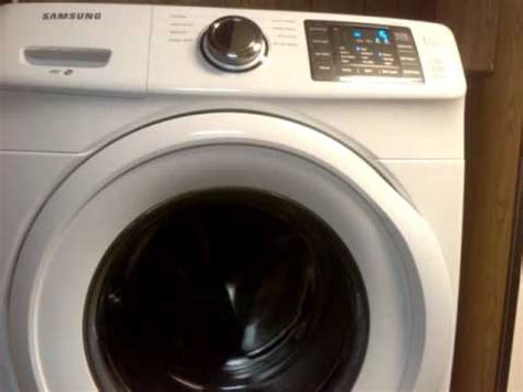 samsung wfhawa front load washing machine spin