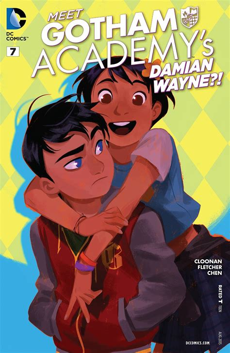 gotham academy dc comic comics damian wayne chen helen batman maps mingjue vol week marvel illustrator info yearbook age wiki