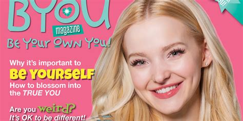 dove cameron covers byou mag s summer issue dishes about the dreamcatcher