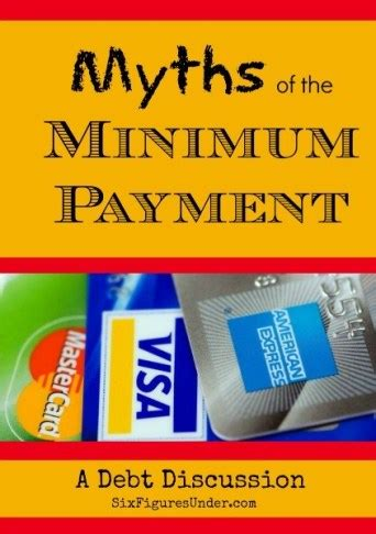 We did not find results for: Myths of the Minimum Payment- A Debt Discussion - Six Figures Under