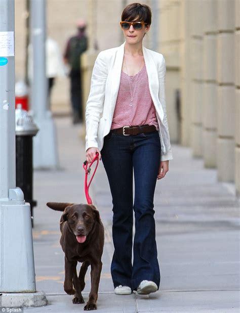 Wellies Are Last Season Anne Hathaway Cuts Elegant