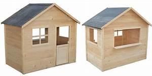 Maisonnette En Bois Castorama : maisonnette bois camille ~ Dailycaller-alerts.com Idées de Décoration