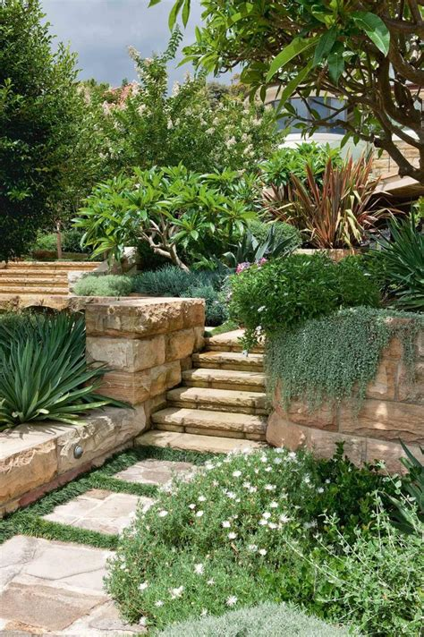 tiered backyard landscaping ideas top 112 ideas about exterior remodel on pinterest gardens landscaping and ornamental grasses