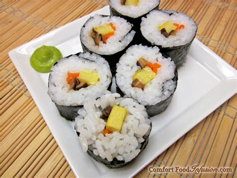 cuisine sushi sushi rolls comfort food infusion