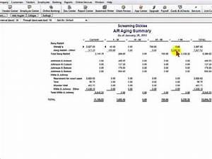 Small Business Balance Sheet Allowance For Doubtful Accounts Quickbooks Youtube