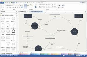 Tutorial Data Flow Diagram Using Microsoft Visio