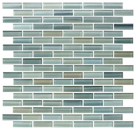 quot reflections quot painted glass mosaic tile mixed 4 quot x6