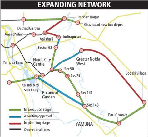Metro plans to loop Noida, Greater Noida, Ghaziabad ...