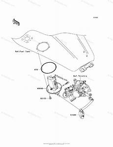 Kawasaki Motorcycle 2006 Oem Parts Diagram For Fuel Pump