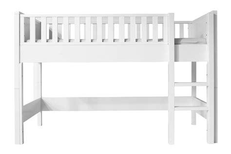chambre bébé quax lit mezzanine nordic mi hauteur évolutif bopita file