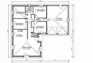 elegance maisons cledor constructeur de maisons With plan de maison plain pied 4 chambres avec garage double