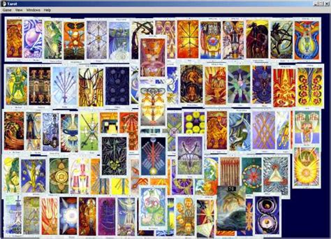 thoth deck the thoth tarot deck