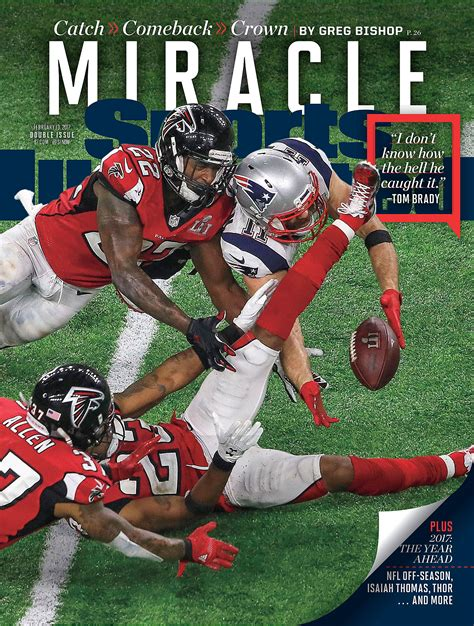 edelman illustrated julian sports catch bowl super patriots england usa february si miracle li covers football superbowl primecuts immortalized gets