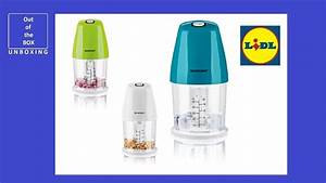 Silvercrest Mini Chopper Smzs 260 H1 Unboxing  Lidl 260w