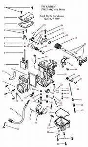 Diagram  Mikuni Carb Parts Diagram